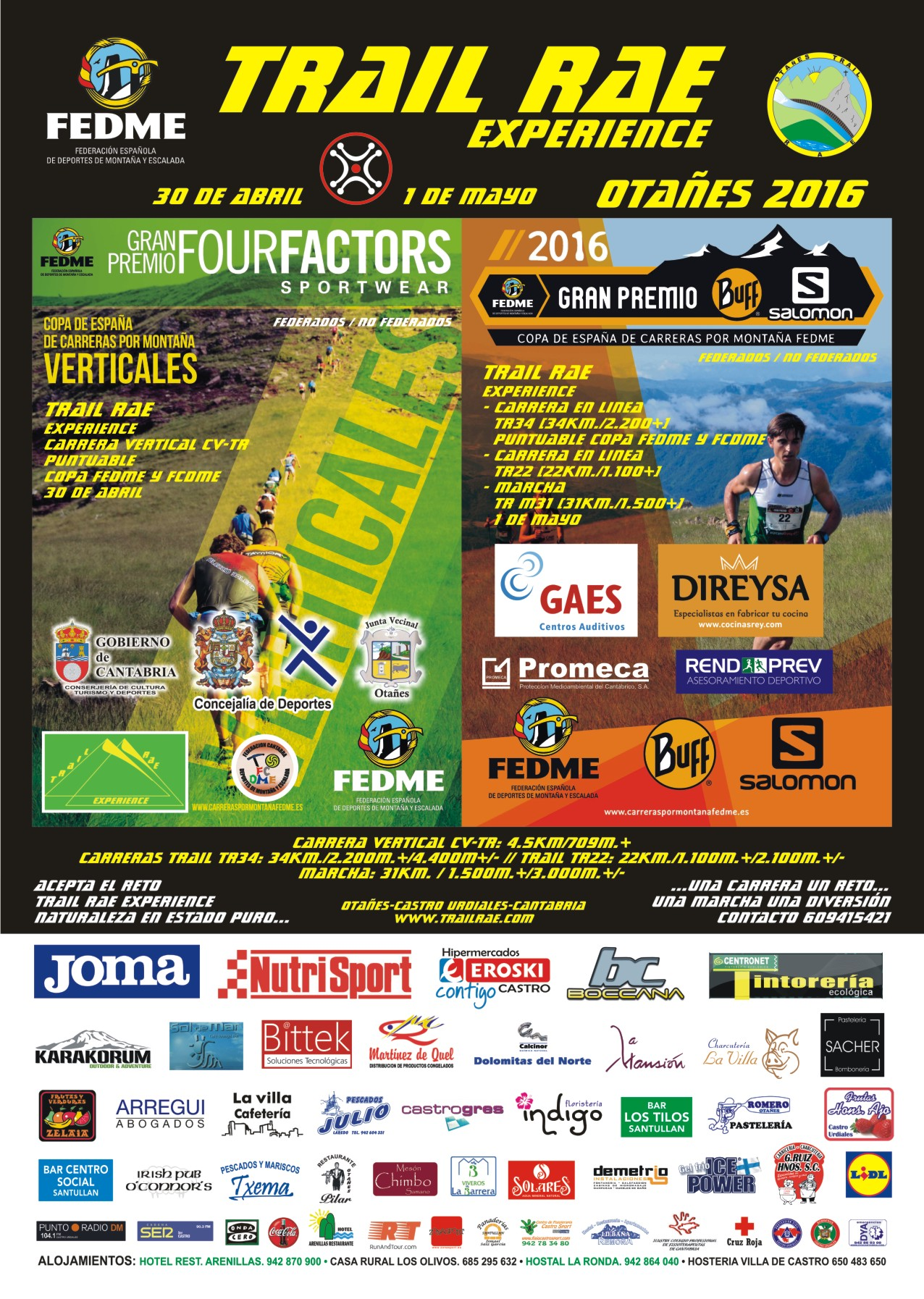 cartel carrera trailrae 2016